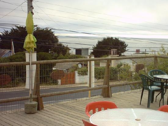 El Tabo, Chili : Una vista hermosa desde la terraza