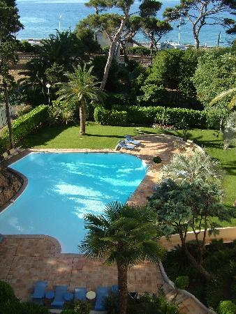 Holiday Inn Cannes : pool and garden