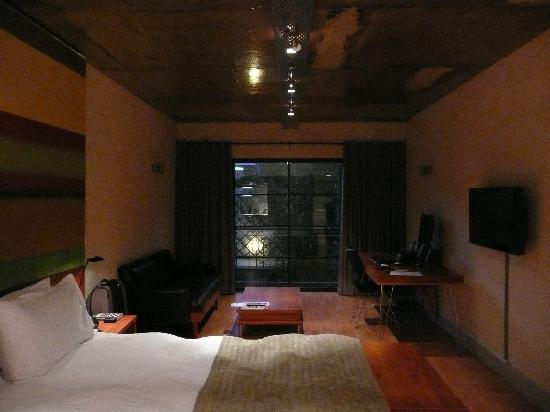 Hippo Boutique Hotel: View on room 2