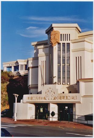Aquarium de Biarritz : Entrée du Musée de la Mer de Biarritz