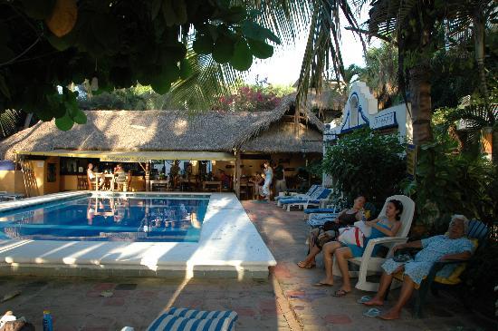 Beach Hotel Ines The Cafe Behind Pool