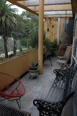 Casa Comtesse: the balcony