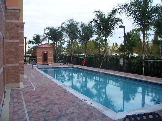 Hampton Inn & Suites Orlando - South Lake Buena Vista: Pool Area