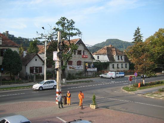 Korona Hotel: View from room