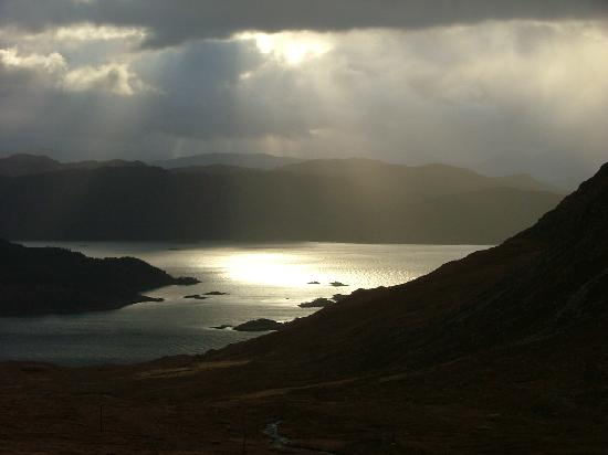 Applecross, UK: taken from the cattle pass