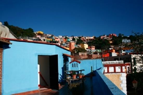 El Zopilote Mojado : roof top at El Zopilote