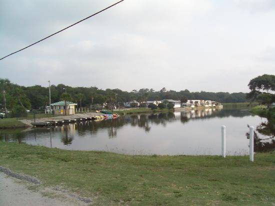 Pirateland Oceanfront Campground: Paddle boat and canoe rentals