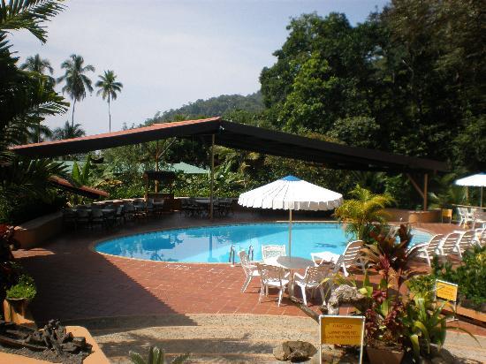 Pinas Bay, Panama: Poolside
