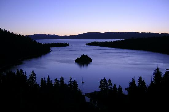 South Lake Tahoe, CA: Sunrise at Emerald Bay