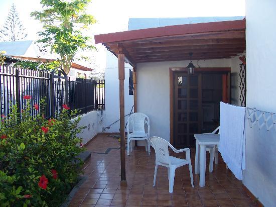 Santa Clara Bungalows: Bungalow 103 and patio