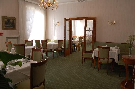 An der Wien : salle du petit-déjeuner