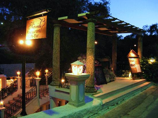 Nereids Restaurant & Bar: One of the two main entrances