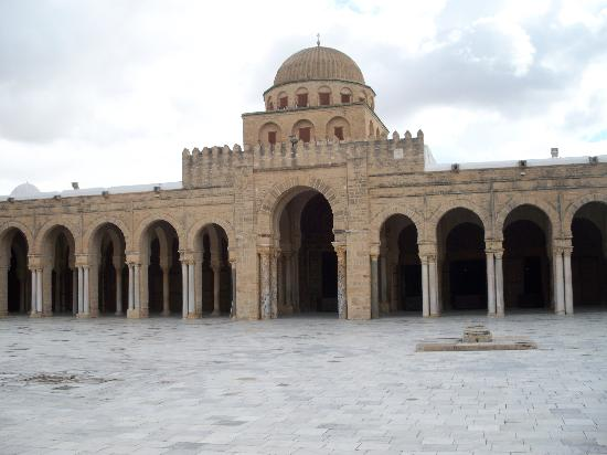 Kairouan Tunisia  city photos gallery : ... Sidi Oqba Mosque : Great Mosque, Kairouan, Tunisia November 2008
