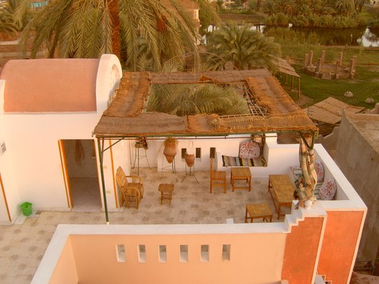 El Fayrouz: part of roof terrace