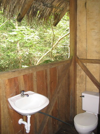 Cuyabeno Lodge: Our Bathroom in the Jungle
