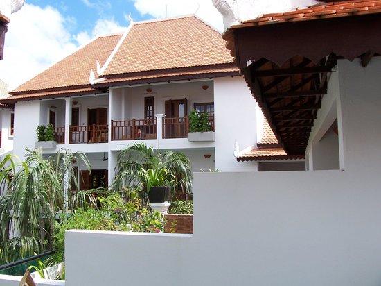 Rambutan Resort - Siem Reap : looking across from our room