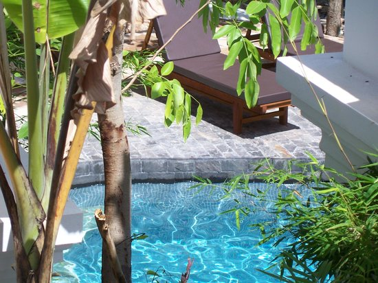 Rambutan Resort - Siem Reap : after along hot day at the temples a cool dip in the salt water pool is a MUST !