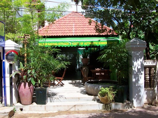 Rambutan Resort - Siem Reap: the resorts great Khmer cafe and breakfast .........if you don't have it by the pool ?