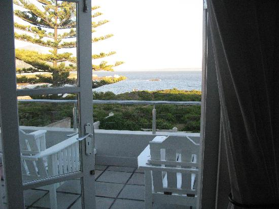 Ocean Eleven Guesthouse: View of our balcony