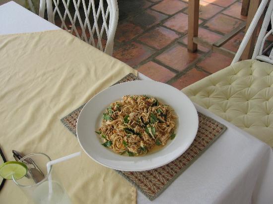 Cambodia Cooking Class: Banana Flower & Chicken Salad