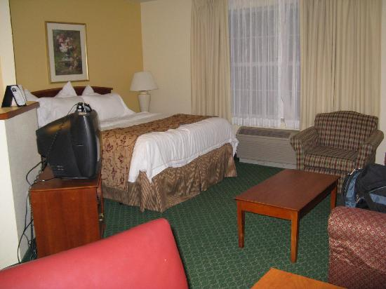 TownePlace Suites Detroit Sterling Heights : The room