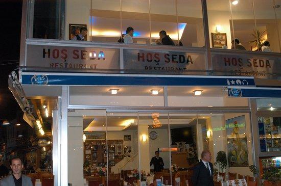 Hos seda: The Hoss Seda Restaurant
