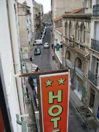 Hotel de France Beziers: View from my window