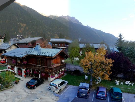 Hotel de l'Arve: View from our room #51