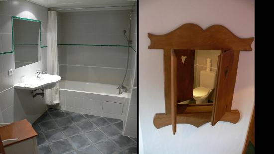 Hotel de l'Arve: Supersized Bathroom, Quirky Viewing Window