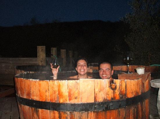 Valle Las Trancas, Chile: jacuzzy