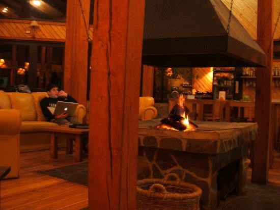 Valle Las Trancas, Chile: nice lobby