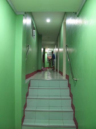 Pacific Pensionne : hallway