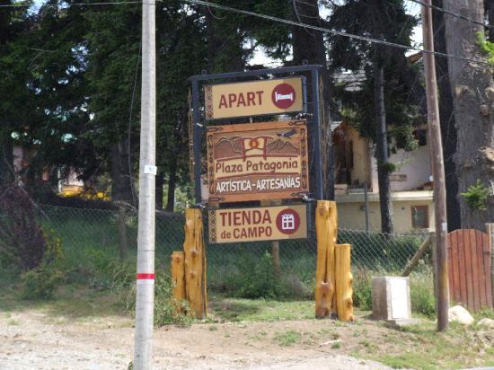 Plaza Patagonia: Apartment sign