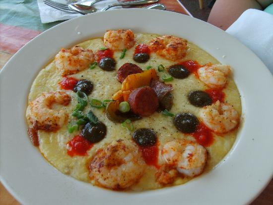 Sunset Grille: shrimp and grits !