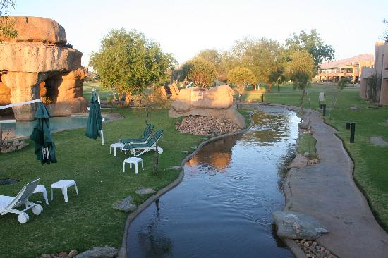 Windhoek Country Club Resort: perfekte Aussenanlage