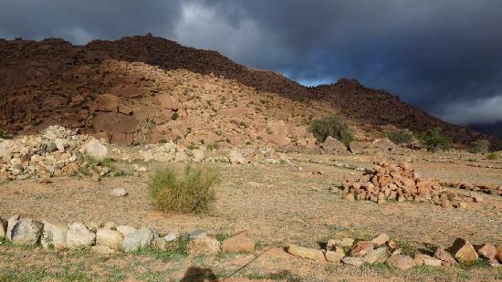 The Sun Clouds and Mountains of Tafraoute