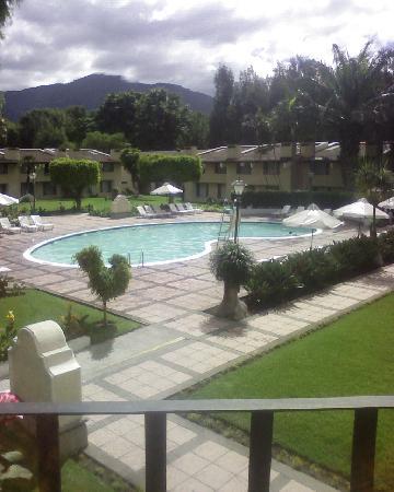 Soleil La Antigua: Vista de la piscina
