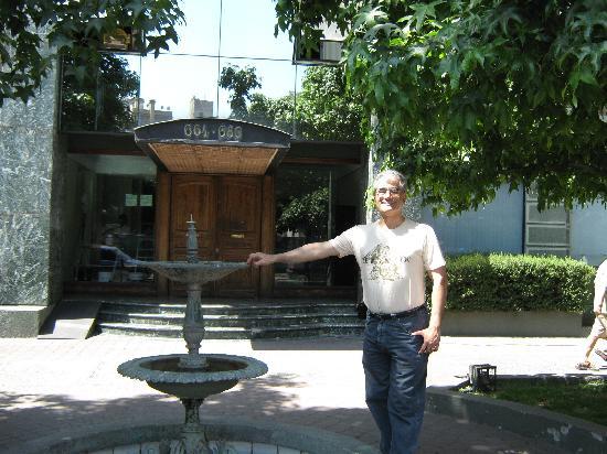 San Marino Apart Hotel: Estoy en la entrada del Hotel