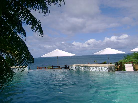 Cap Maison: View from pool