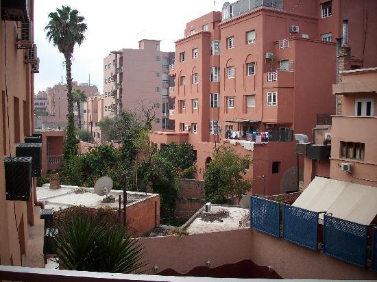 Hotel Hicham : vue sur les toits