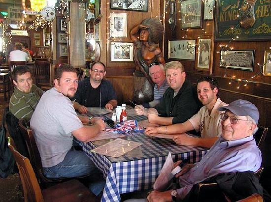 Heroes Bar & Grill: We were a relatively calm bachelor party group.
