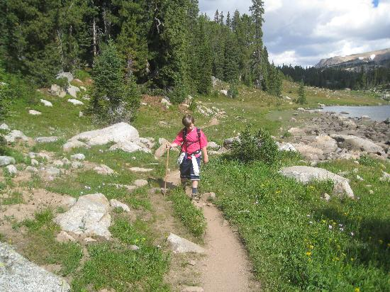 Montana: Hiking at Island Lake Campground- Beartooth Pass