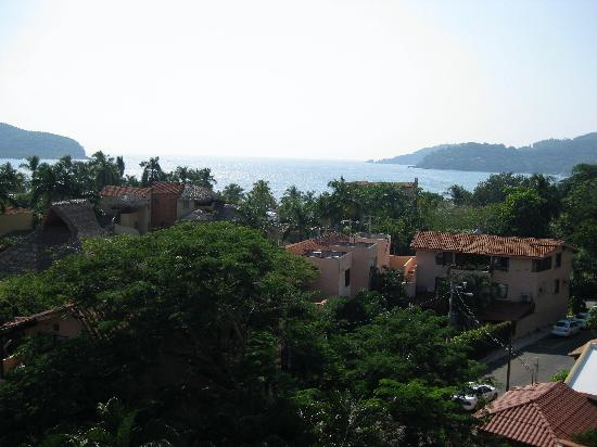 Villa Carolina Hotel: View from grand House