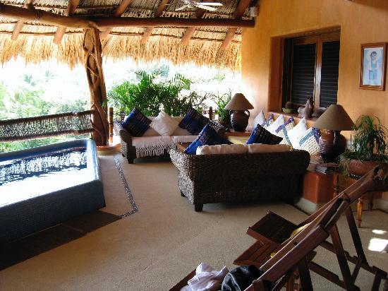 Villa Carolina Hotel: Grand House living area