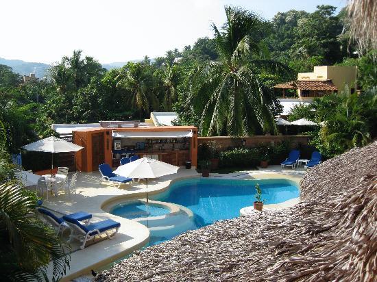 Villa Carolina Hotel: view from master suite