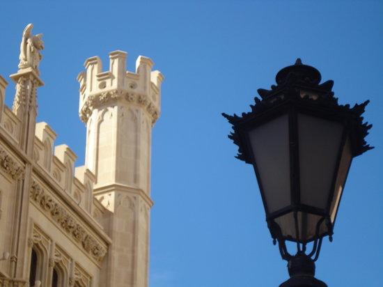 Palma de Mallorca, España: particolari a confronto
