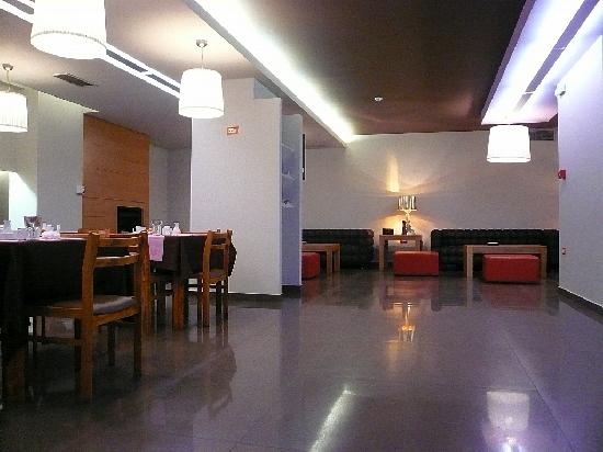 Galaxy City Center Hotel: Dining room and lobby - 1st floor
