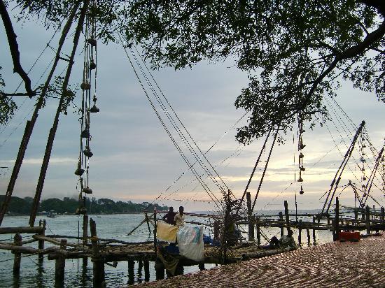 The Bungalow Heritage Homestay : Die chinesischen Fischernetze