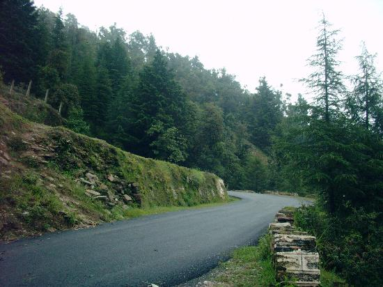 Road to Mukteshwar