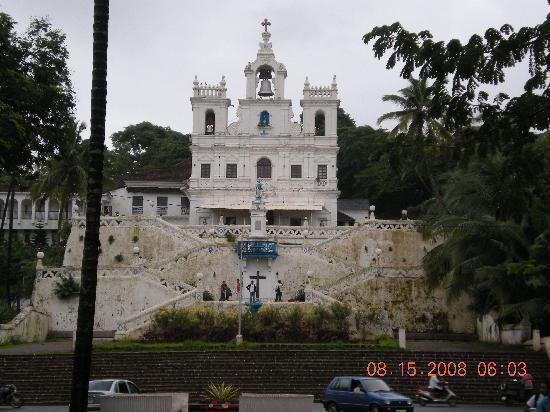 Goa, India: Panji church